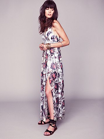 Free People FP New Romantics Flower Bomb Maxi Dress