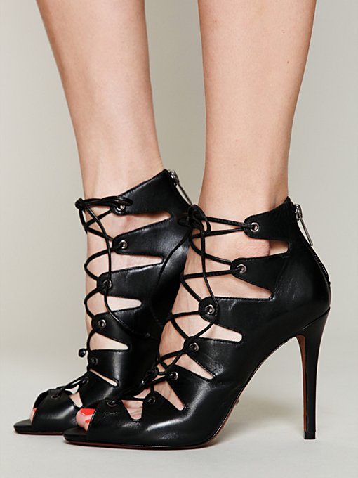 Slate Lace Up Heel in shoes-all-shoe-styles