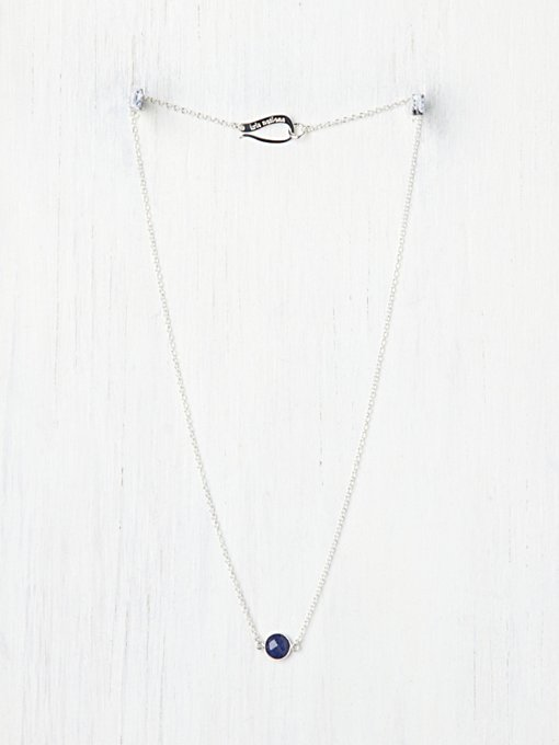 Kris Nations  Birthstone Necklace in bib-necklaces