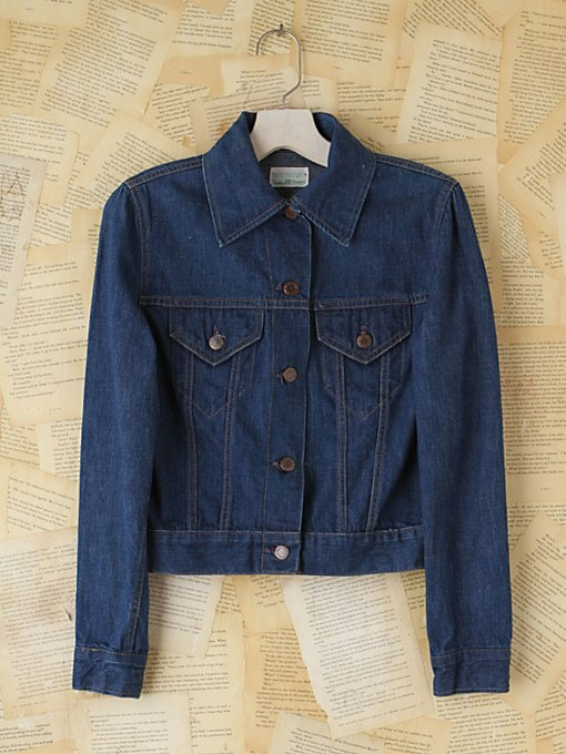 Free People Vintage Sears Denim Jacket in vintage-jeans