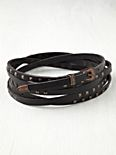 Studded Triple Wrap Belt