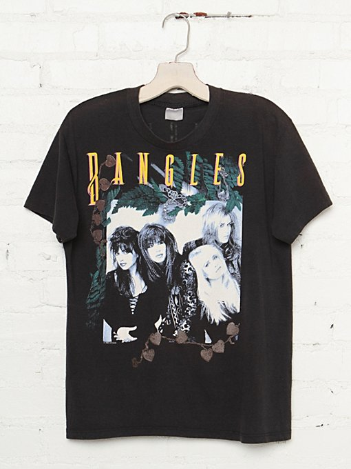Vintage The Bangles 1989 Tour Tee in Vintage-Loves-vintage-tees