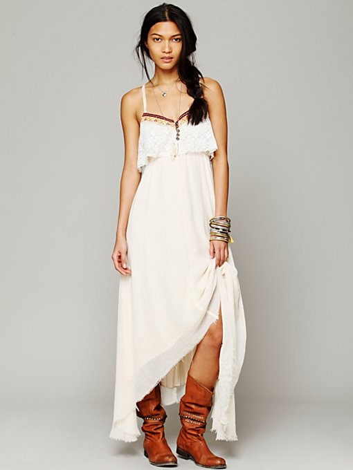 Free People Gypsy Heart Dress in crochet-dresses