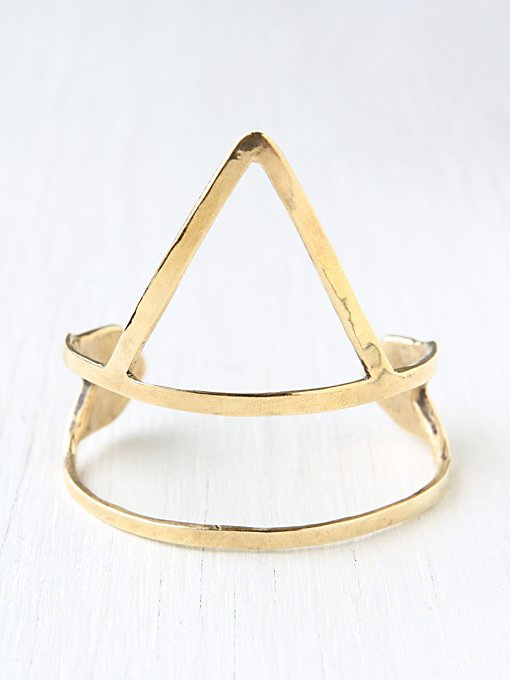 Bear Head Arrow Cuff in bracelets