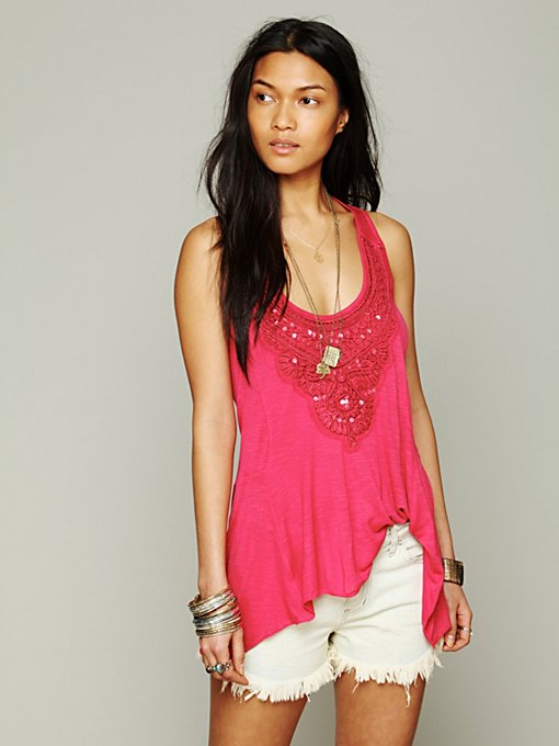 Free People Lakshimi Tank in Party-Tops