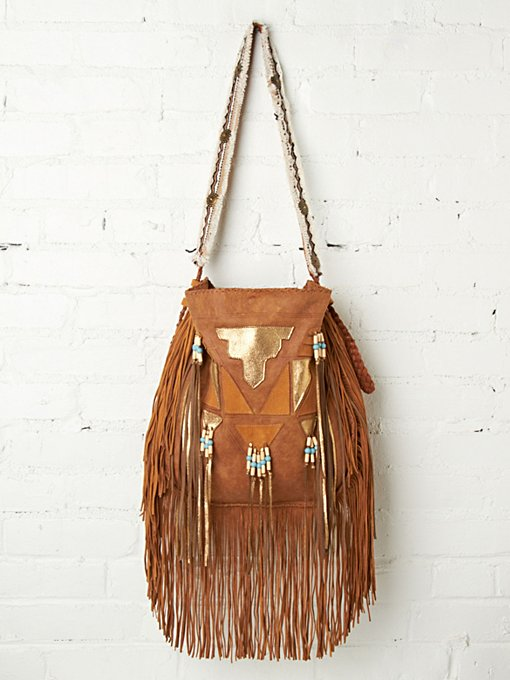 Enshalla Metallic Tiki Tote in beach-bags