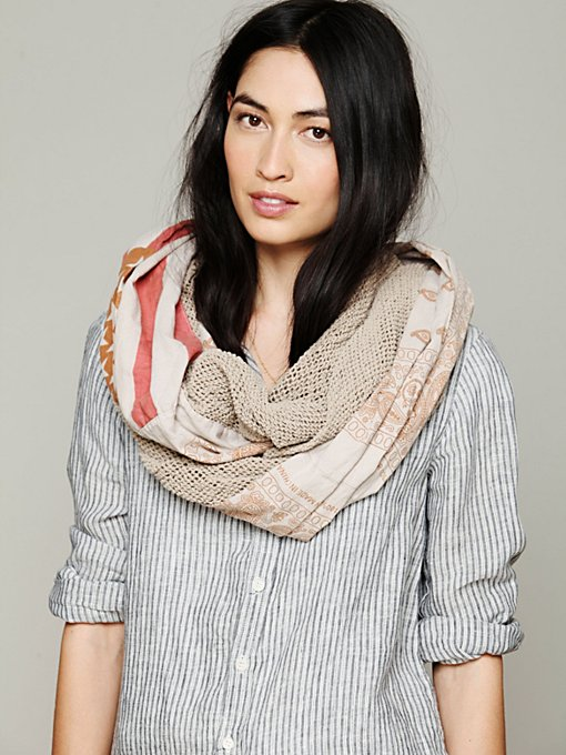 American Flag Infinity Scarf in accessories-scarves-ponchos