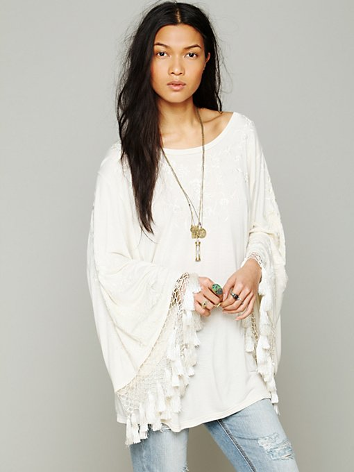 Free People Gypsy Spirit Top in knit-tops