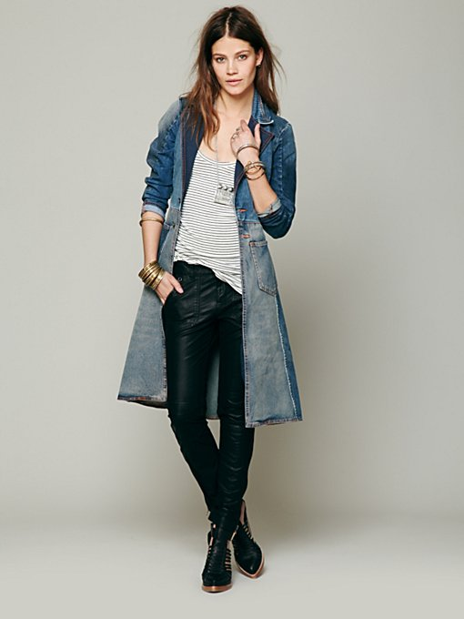 Artisan De Luxe Head Over Heels Denim Jacket in denim-jackets