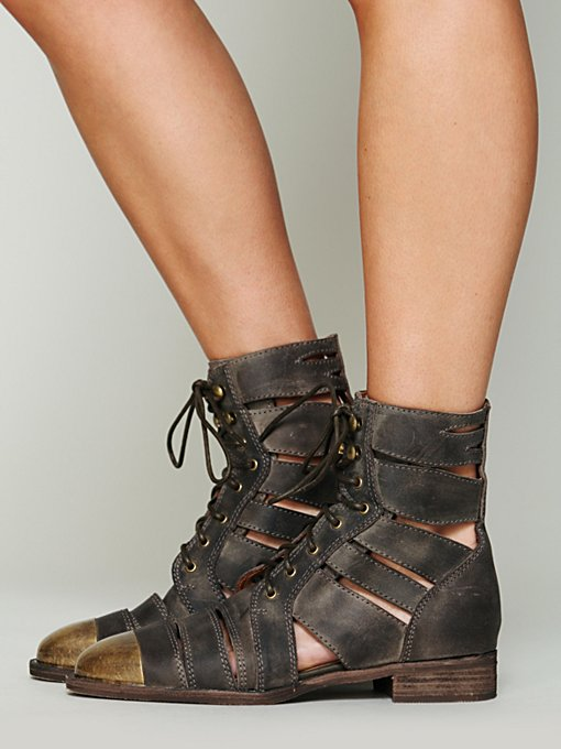 Jeffrey Campbell Jenson Slash Boot in Jeffrey-Campbell-Shoes