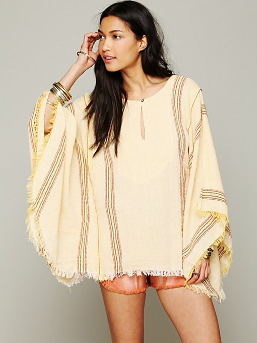 Baja Surf Poncho in clothes-tops
