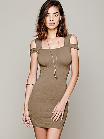 Off the Shoulder Bodycon