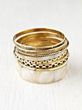 Shell Hard Bangle Set