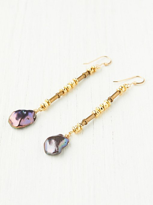 Abalone Drop Earrings in accessories-jewelry
