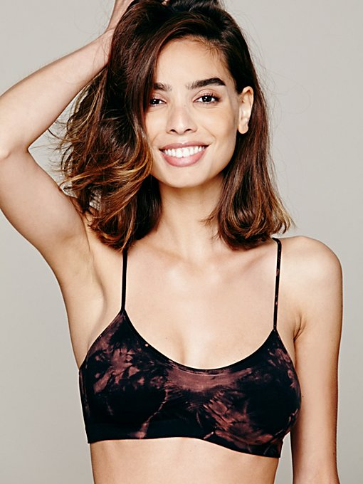 Seamless Tie Dye Bralette in whats-new-intimates