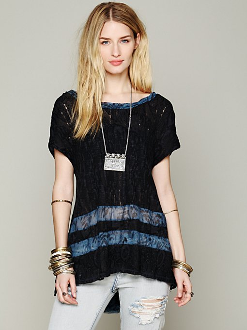 Free People Godet Back Tunic in cotton-tunics