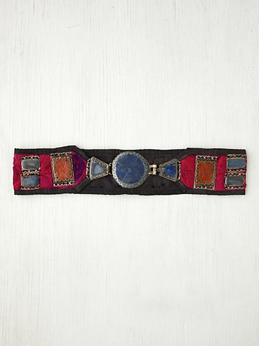 Silk Road Design  Majestic Buckle Belt in Belts