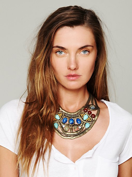 Dannijo Dunbar Statement Embellished Collar in bib-necklaces