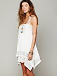 FP ONE Embroidered Poncho Dress