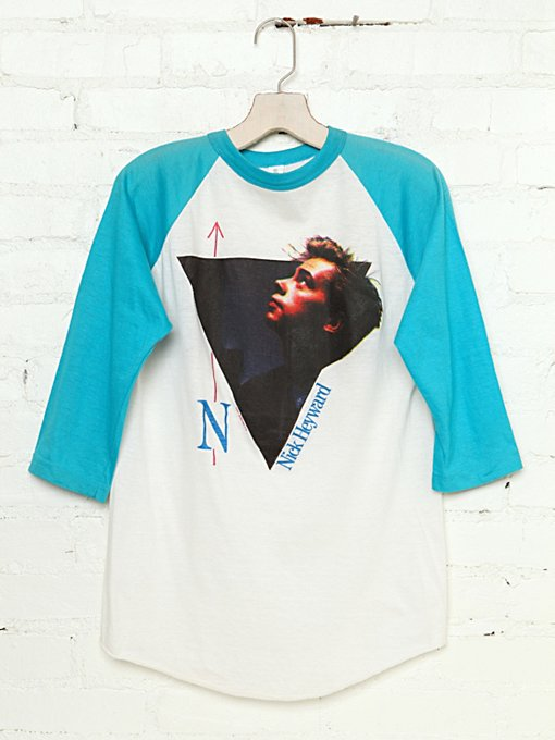 Vintage Nick Heyward Tee in Vintage-Loves-vintage-tees