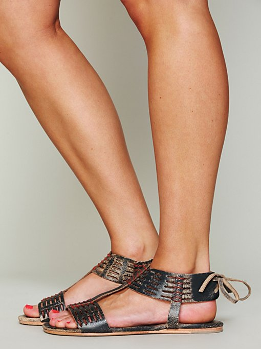 Cadice Stitch Sandal in shoes-sandals