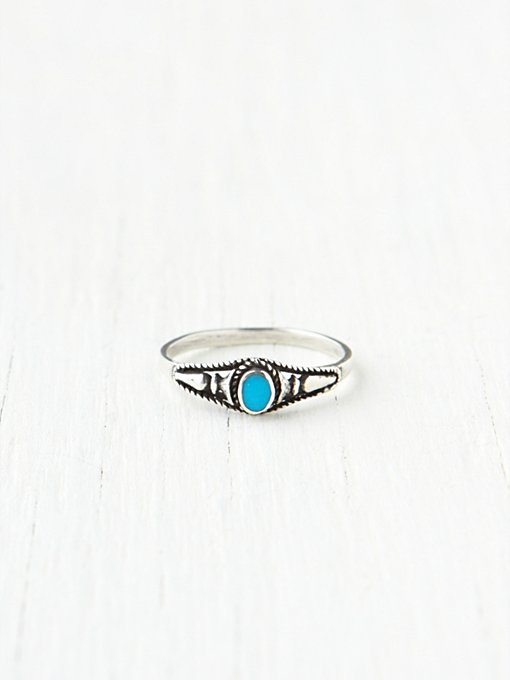 Stacking Stone Rings in bohemian-rings