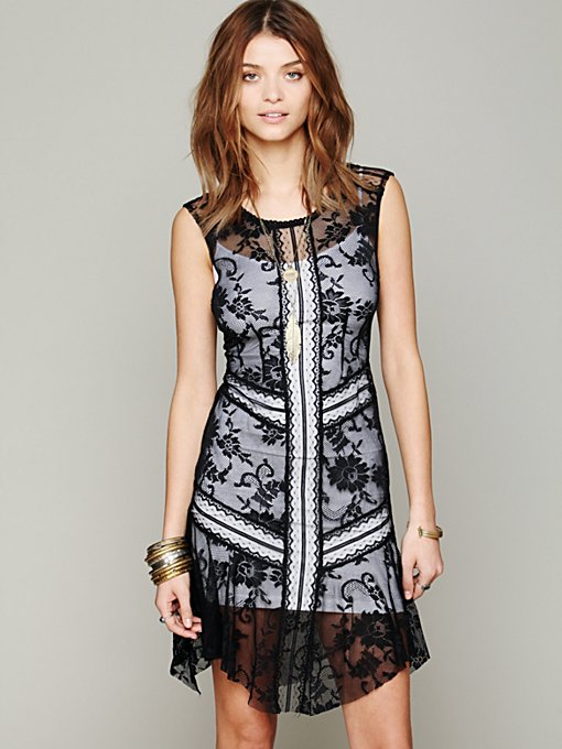 Free People Lace Festival Slip in Evening-Dresses