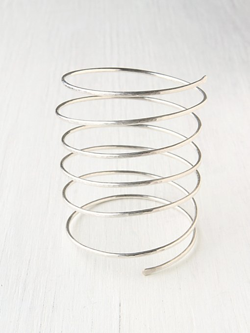 Nashelle  Statement Spiral Cuff in boho-jewelry