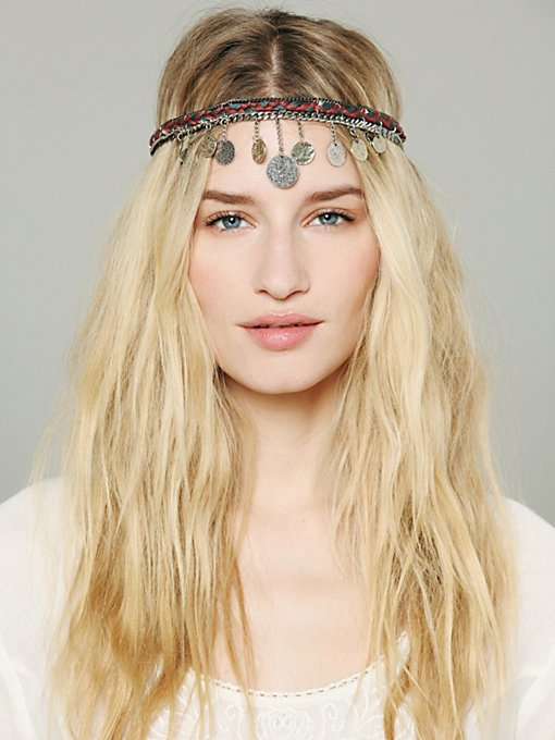Embellished Coin Headpiece in Hair-Accessories