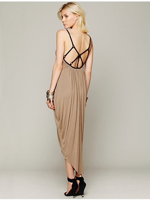 Free People Spellbinder Midi Dress in maxi-dresses