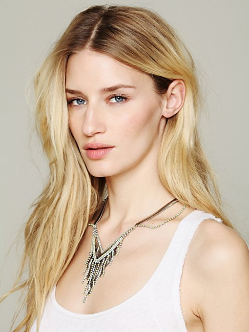 Viento Chiconia Fringe Collar in jewelry