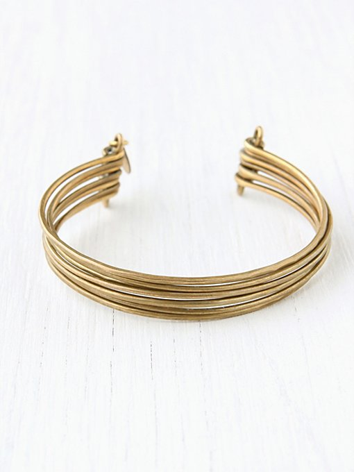Brass Upper Arm Cuff in accessories-jewelry
