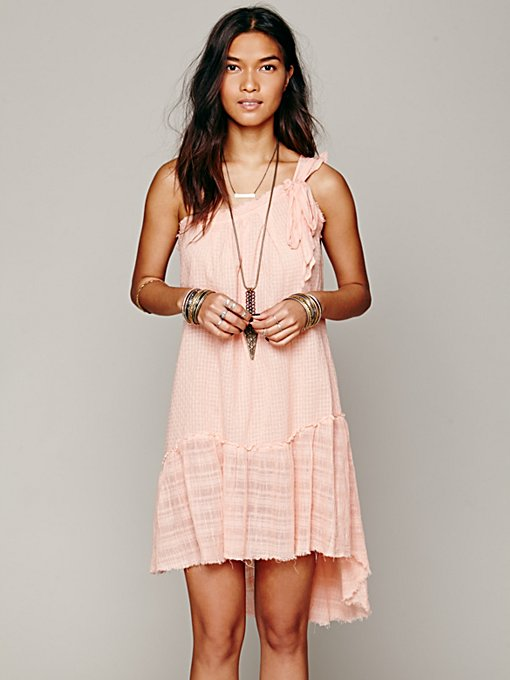 One Shoulder Beach Dress in sleepwear