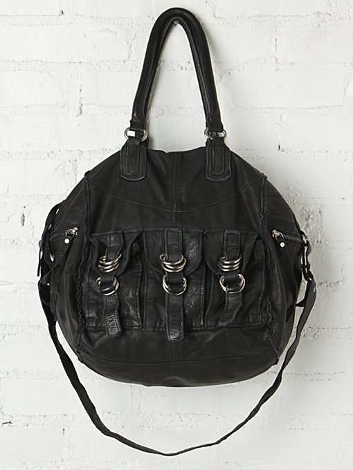 Lissan Harper Moto Pocket Tote in handbags