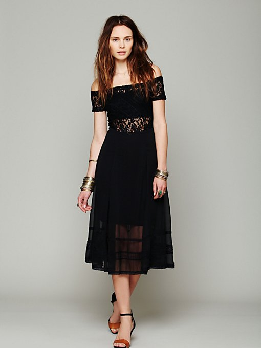 Free People Raven Off The Shoulder Dress in One-Shoulder-Dresses