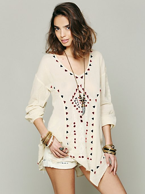 Carioca Landscapes Tunic in clothes-all-tops-tunics