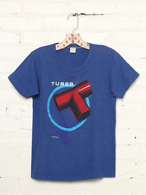 Vintage Tubes 1981 Tour Tee in Vintage-Loves-vintage-tees