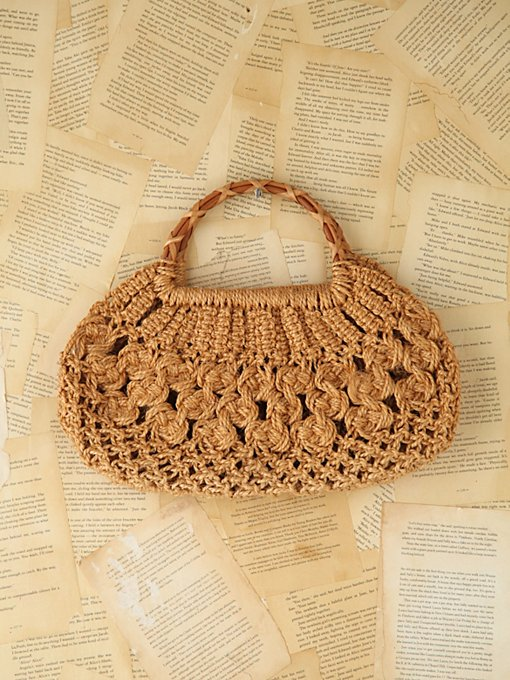 Vintage Woven Straw Bag in vintage-loves-accessories