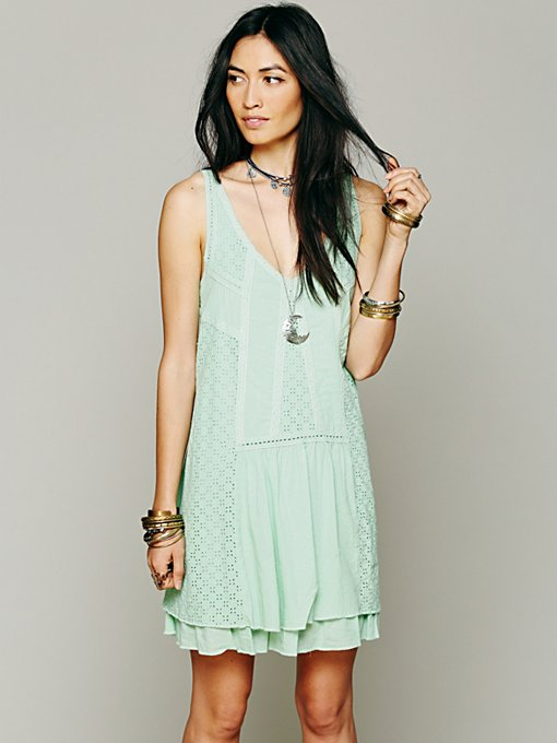 Free People Sophie Mini Dress in Shift-Dresses