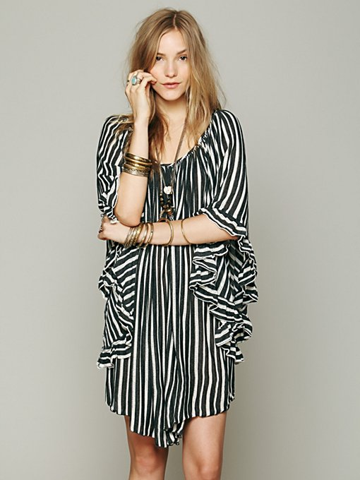 Knit Stripe Doily Dress in whats-new