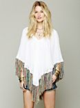 Fringy Peaceful Poncho