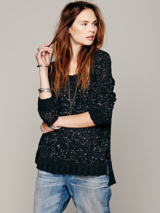 Free People Honeycomb Pullover in hoodies-sweatshirts