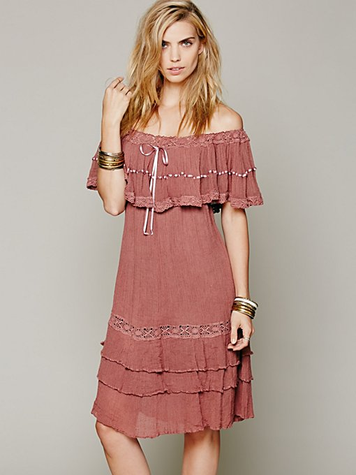 Athena Off-The-Shoulder Dress in whats-new-clothes
