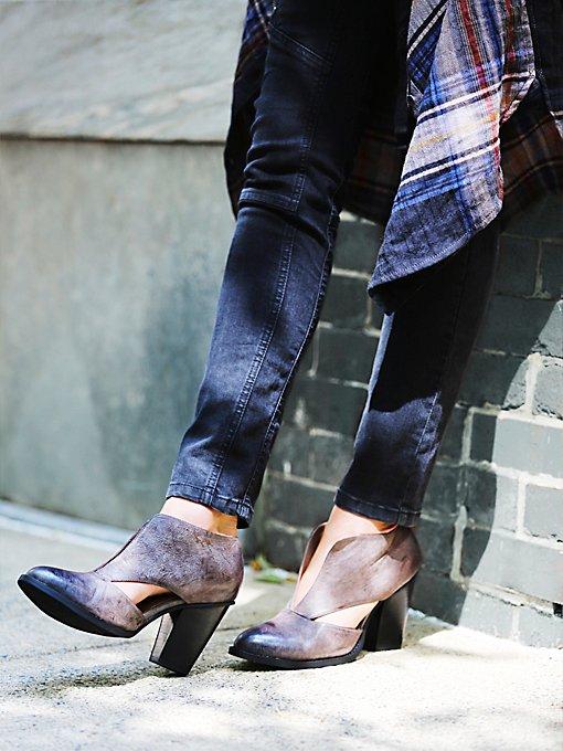 Deep V Ankle Boot