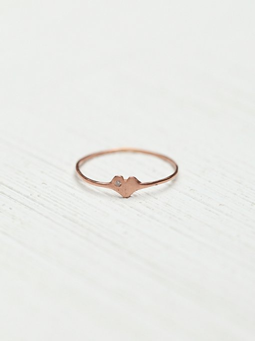 Diamond Heart Ring in whats-new