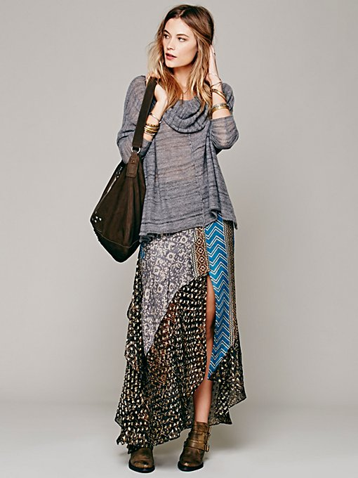 Free People North Country Border Maxi