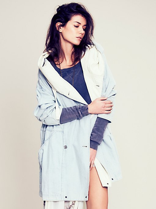 Free People FP New Romantics Carried Away Coat in Coats