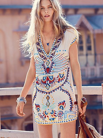 Sale alerts for  Echoing Ella Beaded Dress - Covvet