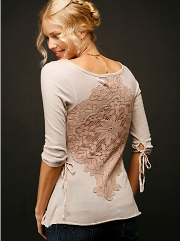 Applique Crossover Top