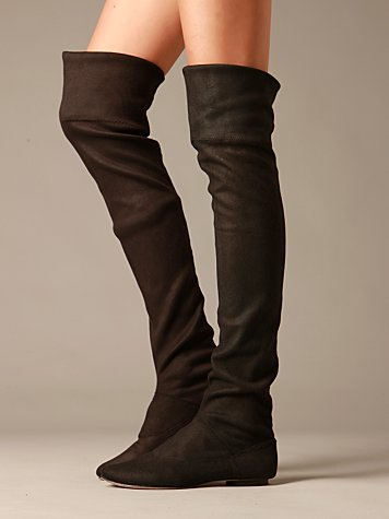 Free People Clothing Boutique > Convertible Over The Knee Boot :  boot free people winter shoe